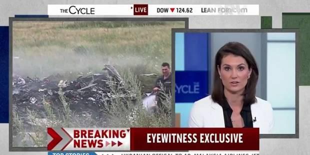 Crash : un faux témoin piège une journaliste en direct - La DH