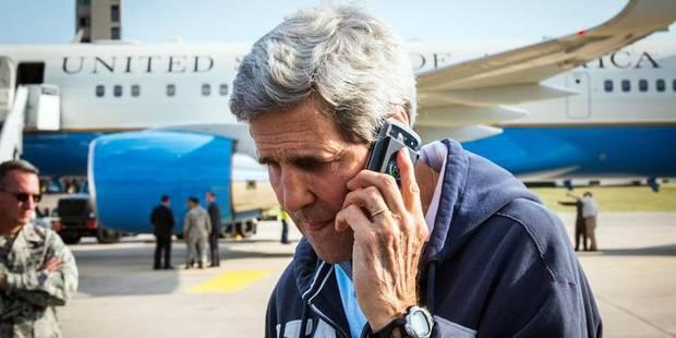 Israël a écouté le téléphone de John Kerry en 2013 - La DH