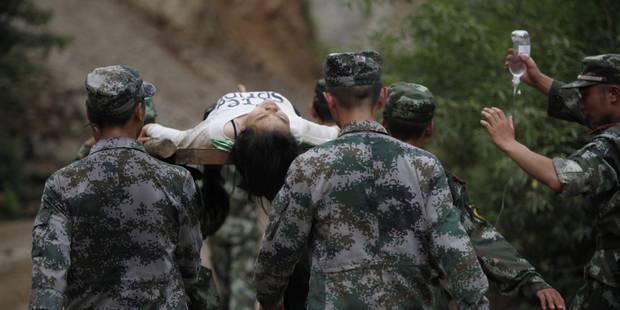 Séisme en Chine: près de 400 morts - La DH