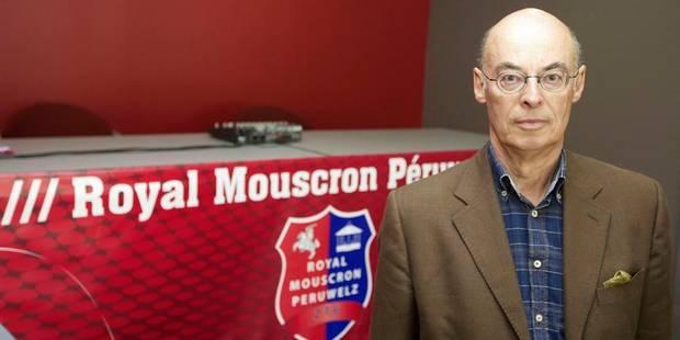 Il faudra dire Royal Excel Mouscron à partir du 1er juillet - La DH