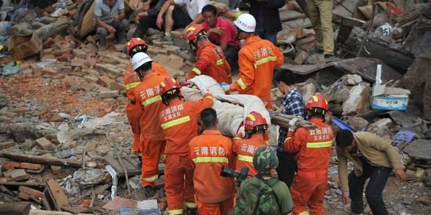 Séisme en Chine: 589 morts - La DH