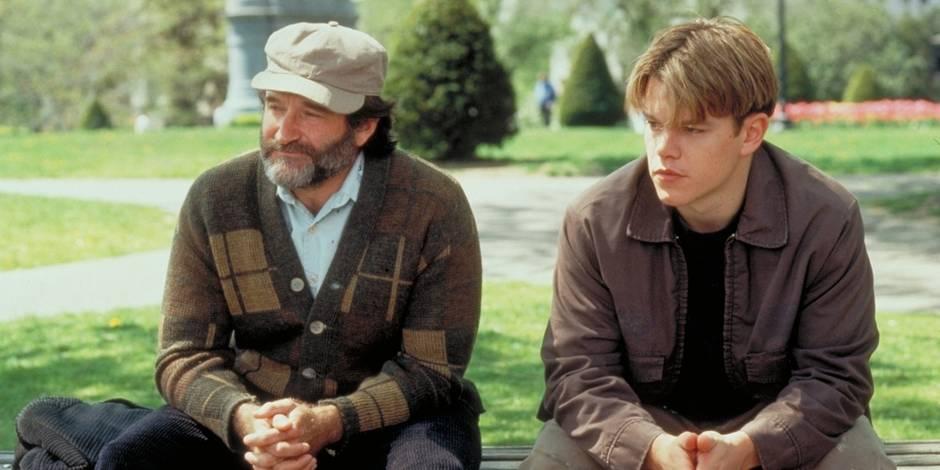 Robin Williams: hommage des fans autour du banc de « Will Hunting »