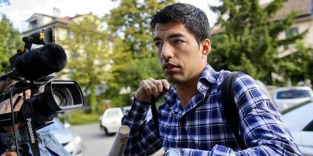 La suspension de Luis Suarez confirmée - La DH