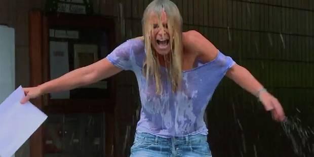 Le Ice Bucket Challenge de Cécile de Menibus sans soutien-gorge - La DH