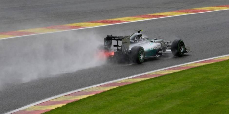 GP de Belgique: Rosberg s'offre la pole