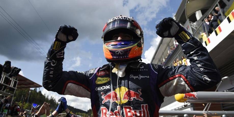 Daniel Ricciardo remporte le GP de Belgique