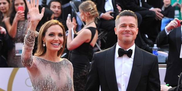 Brad Pitt et Angelina Jolie se sont mariés - La DH