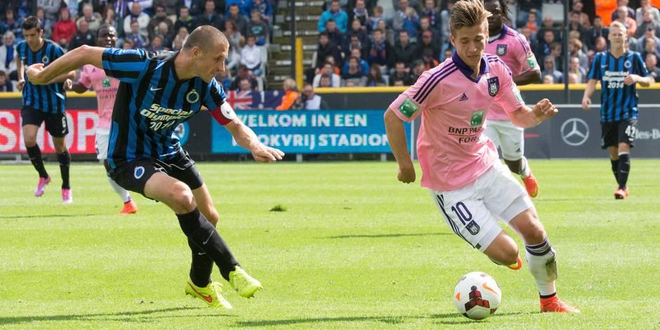 FC Bruges-Anderlecht: les notes des Mauves - La DH