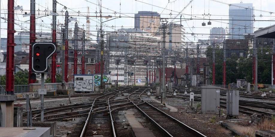 La Ville de Bruxelles à l'amende pour une grève sur un site de la SNCB