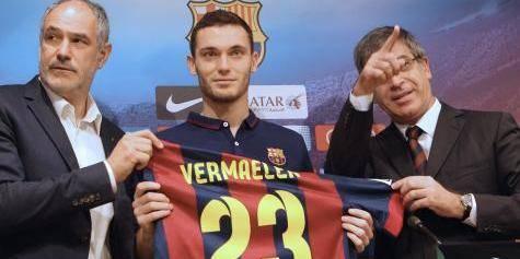 Vermaelen se souviendra de son premier entrainement au Barça - La DH