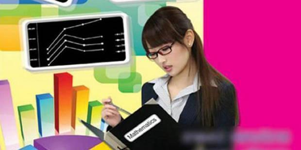 Gaffe: une actrice porno sur la couverture d'un manuel scolaire - La DH