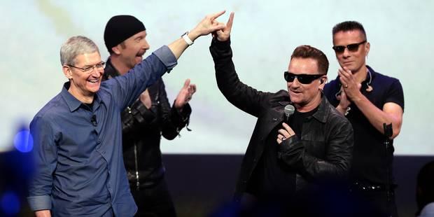 Apple permet aux abonnés d'iTunes d'effacer l'album de U2 - La DH
