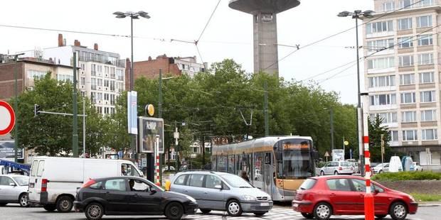 Accident entre un scooter et un tram à Meiser: circulation perturbée - La DH
