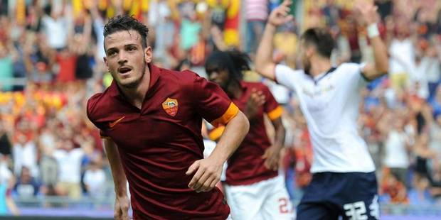 La tr�s belle c�l�bration de but de Florenzi