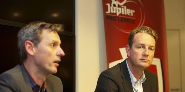 """Pro League: """"R�tablissons la relation de confiance avec l'Union Belge"""""""