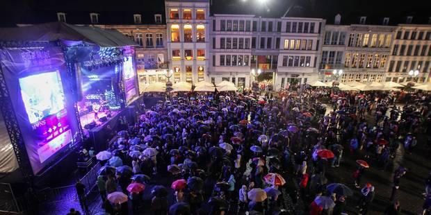 Agression aux fêtes de Wallonie: deux personnes sous mandat d'arrêt - La DH