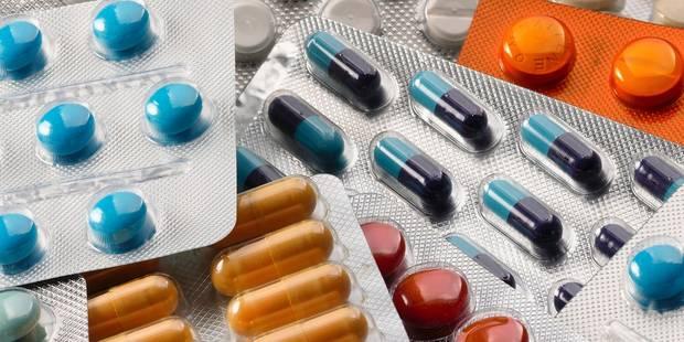 Près de 600 tonnes de médicaments rapportés en 2013 - La DH