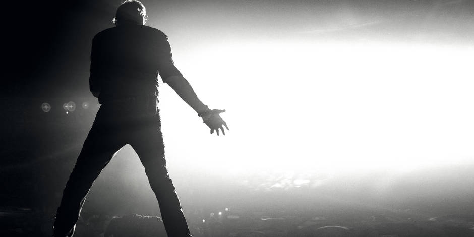 Johnny Hallyday en concert en 2015 en Belgique !