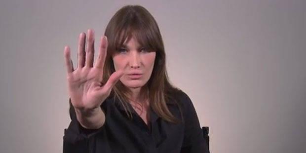 Carla Bruni victime de raillerie... alors qu'elle oeuvre pour la bonne cause - La DH