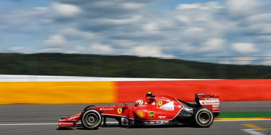 La Formule 1 en Belgique jusqu'en 2018