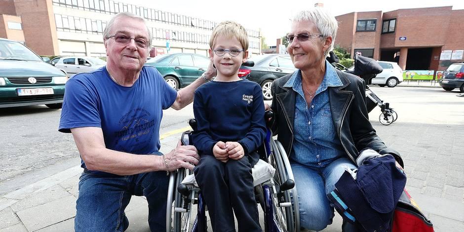 Matteo, paralysé du jour au lendemain