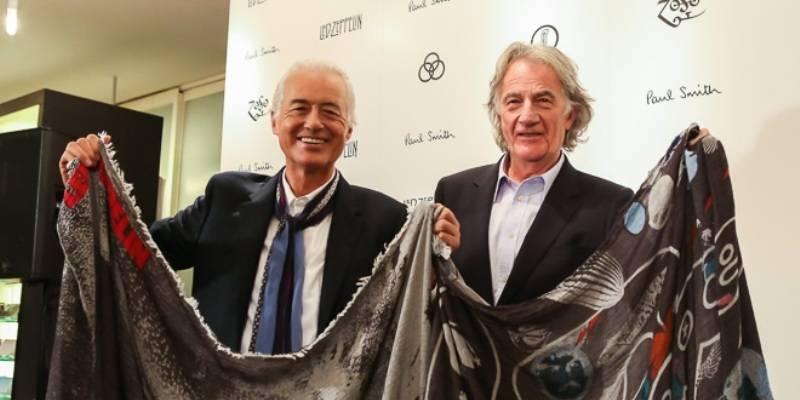 La collab rock : des foulards collector signés Paul Smith pour Led Zep'