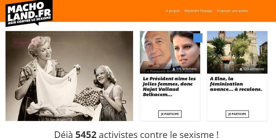 macholand.fr : un site qui veut rassembler contre le sexisme ordinaire