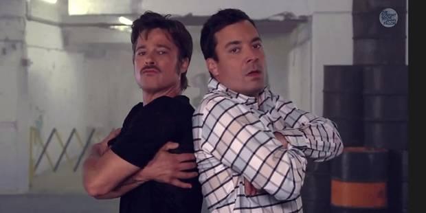 Brad Pitt dans une battle de breakdance - La DH
