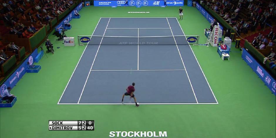 Stockholm: le double coup de génie de Dimitrov