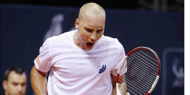 03/10/2014 - MONS - ATP Challenger Tour - ETHIAS TROPHY - Steve DARCIS ©Philippe BUISSIN / IMAGELLAN