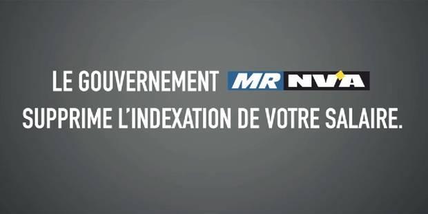 """Le PS derrière une campagne dénonçant les coupes budgétaires du """"gouvernement MR N-VA"""" - La DH"""