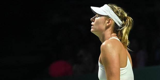 Masters: Sharapova éliminée, Wozniacki prive Kvitova de demi-finale - La DH