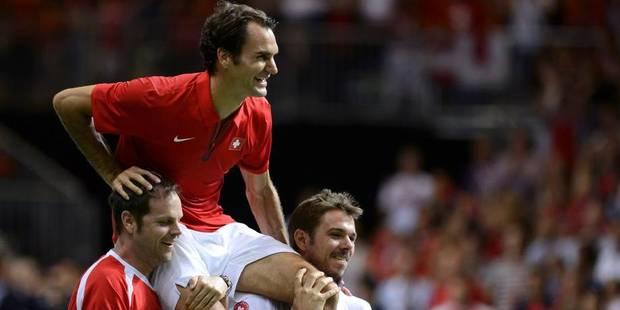 Coupe Davis: la Suisse emmenée par Federer et Wawrinka, bien sûr - La DH