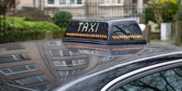 Rassemblement d'une centaine de taxis au parc du cinquantenaire - La DH