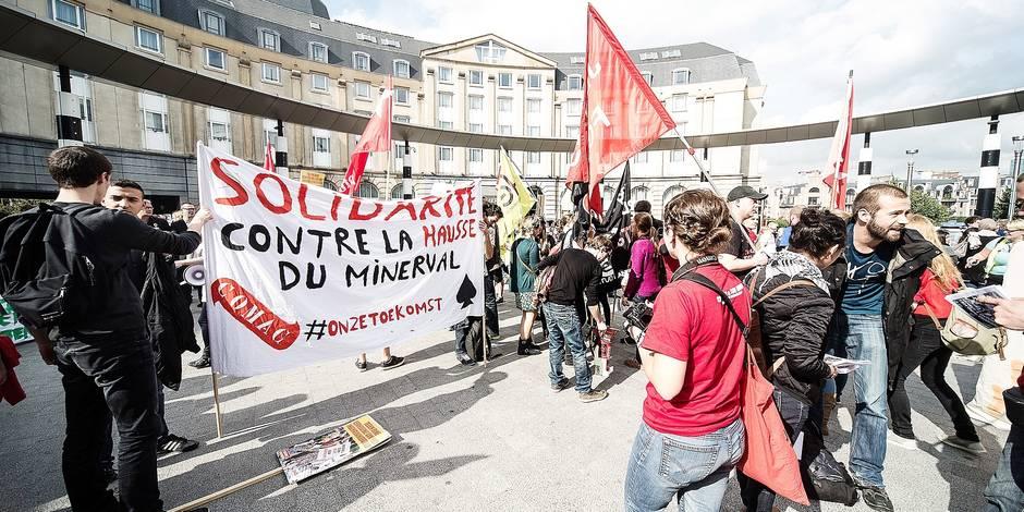 Manif des étudiants dans huit villes belges - La DH