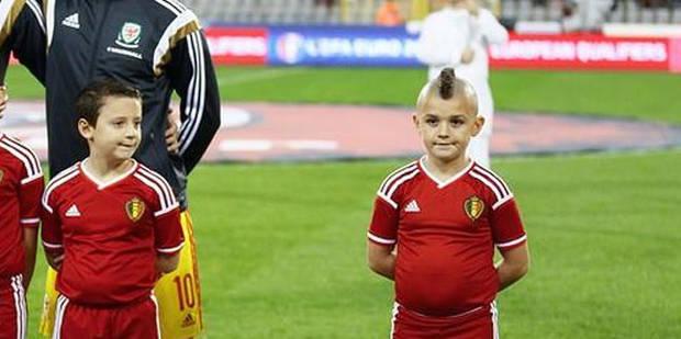 Belgique - pays de Galles: la coupe de ce jeune supporter fait le buzz - La DH