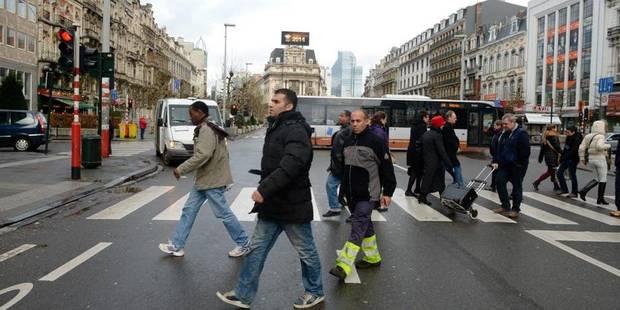 """Vers un piétonnier """"pro-voiture"""" à Bruxelles? - La DH"""
