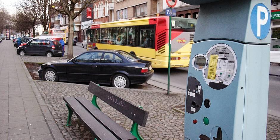 Charleroi: plus de parking gratuit en ville - La DH