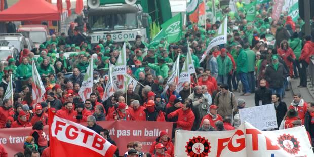 """""""Si vous ouvrez, on saccage tout"""": des commerçants menacés par des syndicalistes - La DH"""