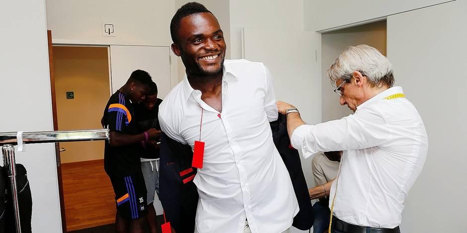 "Kudimbana: ""On m'appelle le Chef des Blacks mais j'aide aussi Praet"""
