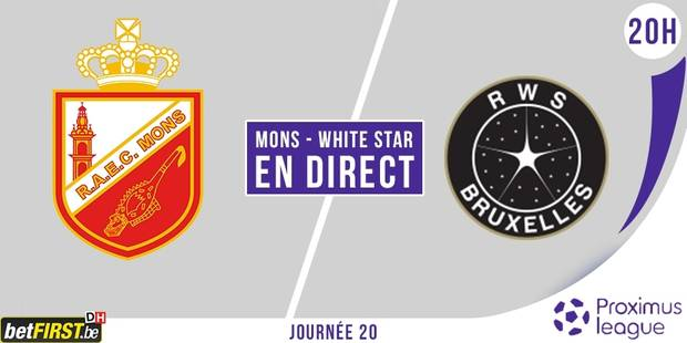 Mons et le White Star se neutralisent (1-1)