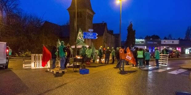 Grève à Liège: incidents à l'Ulg sur le campus du Sart-Tilman - La DH