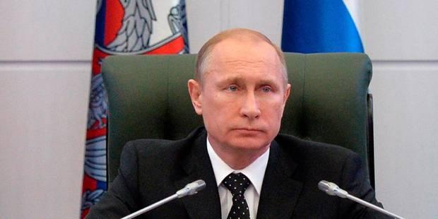 """Poutine: personne ne parviendra à """"intimider ou à isoler la Russie"""" - La DH"""