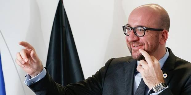 Charles Michel promet des gaufres de Bruxelles à Barack Obama - La DH