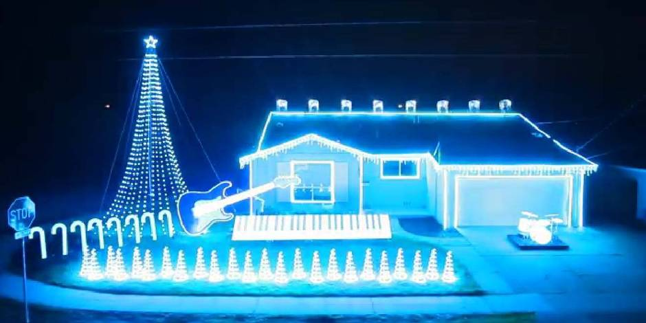 Une déco de Noël au rythme des musiques de Star Wars!