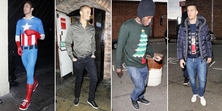 Beuverie, bagarres: les affres de la Christmas Party du foot anglais - La DH