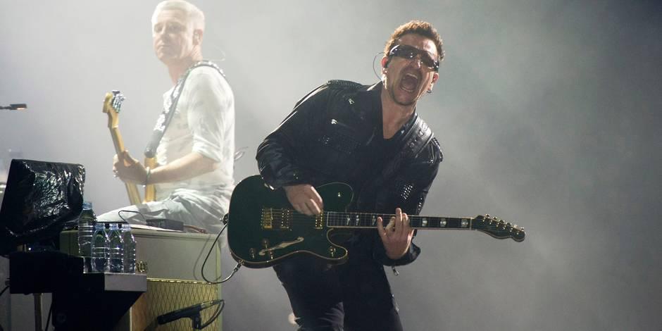 Après sa chute à vélo, Bono pourrait dire adieu à la guitare