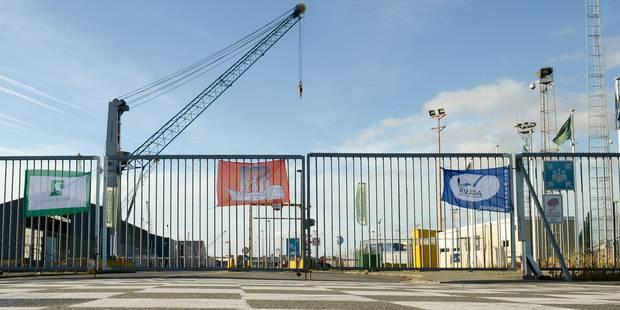 Terrible accident au port d'Anvers - La DH