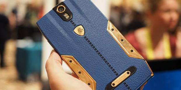 Lamborghini sort un smartphone à 5000 euros - La DH