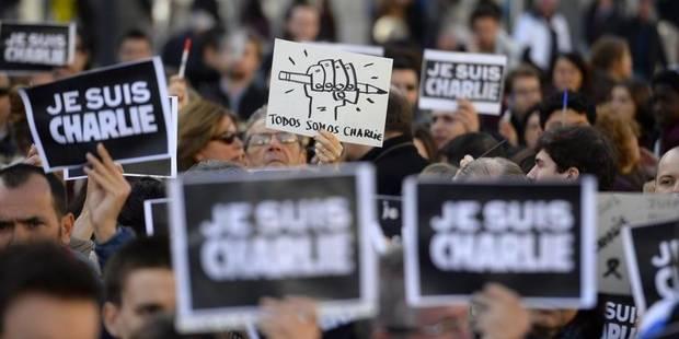Londres, Athènes, Madrid, New York: le monde entier est Charlie - La DH